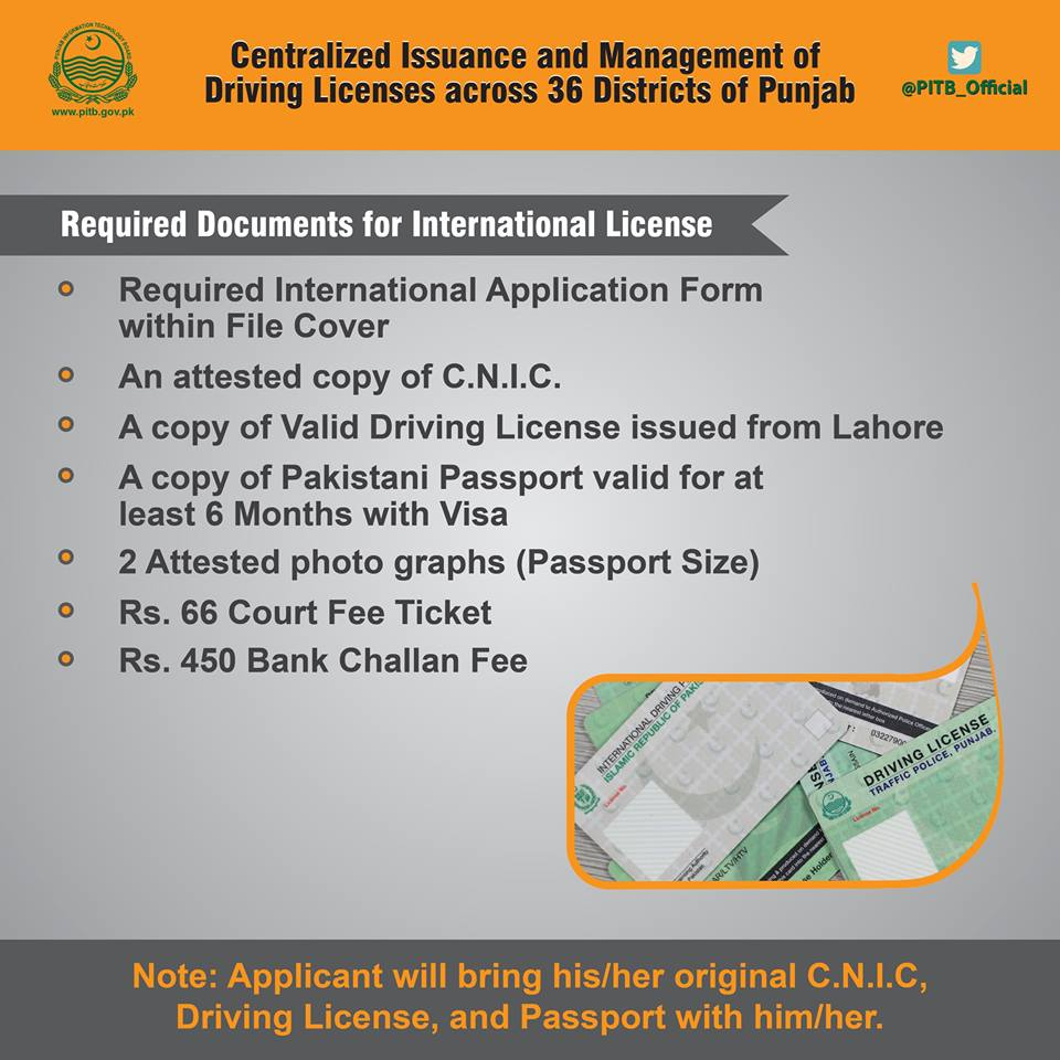International Driving License Requirement | See And Report