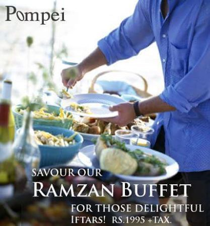 Pompei's -iftar-deal