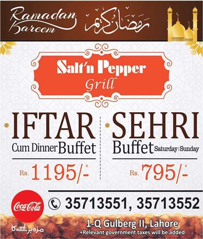 Salt'n Pepper-iftar-deal