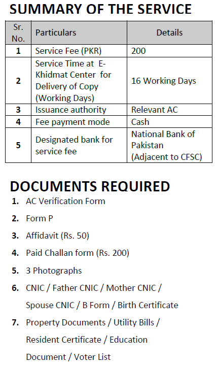 Domicile Certificate Application E Khidmat Markaz See And Report